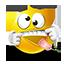 {yellow}:razz: